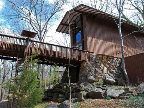 Stoneflower Cottage on Eden Isle.  This is an E. Fay Jones design