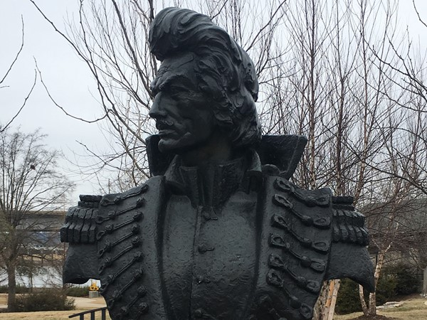 Pulaski County named after war hero - Statue is downtown