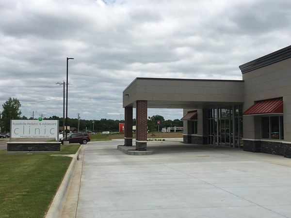 The new Russellville Pediatric & Adolescent Clinic
