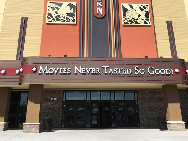 The new Movie Tavern at Gateway Town Center beside Outlet Mall in Little Rock