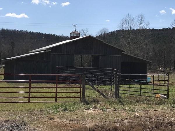 Rustic barn in Johnson County