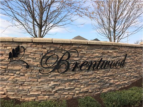 Brentwood Subdivision located in Cave Springs, is an attention-grabbing community