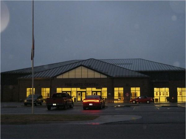 Fine Arts Center At Clarksville's High School