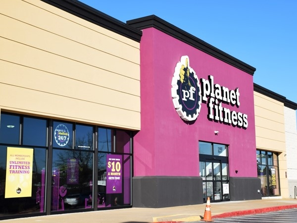 Planet Fitness has several locations around Little Rock - this one is on West Markham