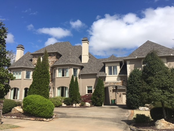 One of Chimney Rock's luxurious estates