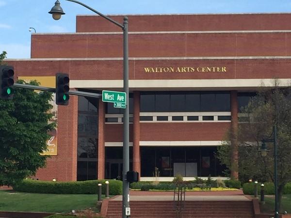 Walton Arts Center on Dickson Street, Fayetteville