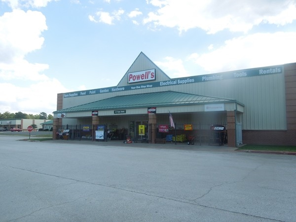 Powell's Ace Hardware in the commercial center of Holiday Island