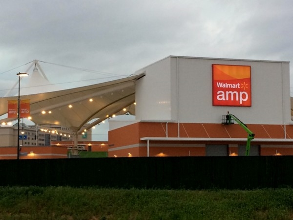 The Arkansas Music Pavilion - aka The Amp