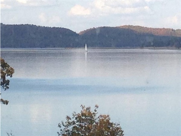 View from Garfield. Sailing is one of many great opportunities at Beaver Lake in Benton County