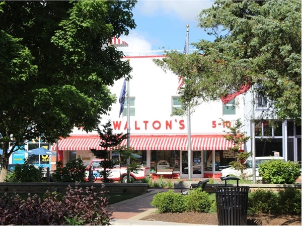 Walton's 5-10 Museum on the Square in downtown Bentonville