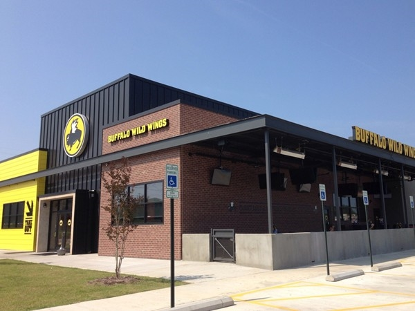 Buffalo Wild Wings is new to the area