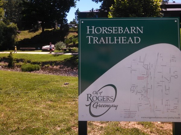 Horsebarn Trailhead: One of my favorite spots for picnic, play or beginning a bike ride