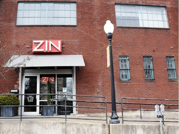 ZIN is a wine bar located in downtown Little Rock