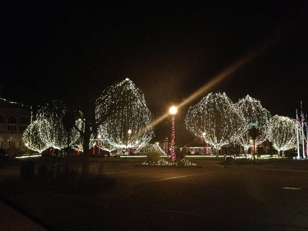 Can't wait to see the Bentonville downtown square with Christmas lights