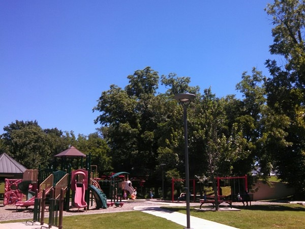 Horsebarn Trailhead Park - one of our favorite spots for picnics, play or beginning a bike ride