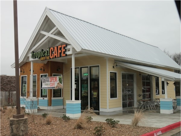 The perfect treat! Tropical Smoothie Cafe, Russellville