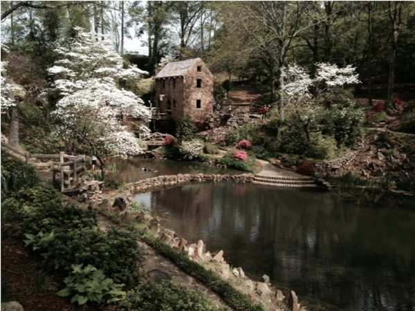 "The Old Mill is a beautiful and popular tourist destination. Opening scene of ""Gone with the Wind"""