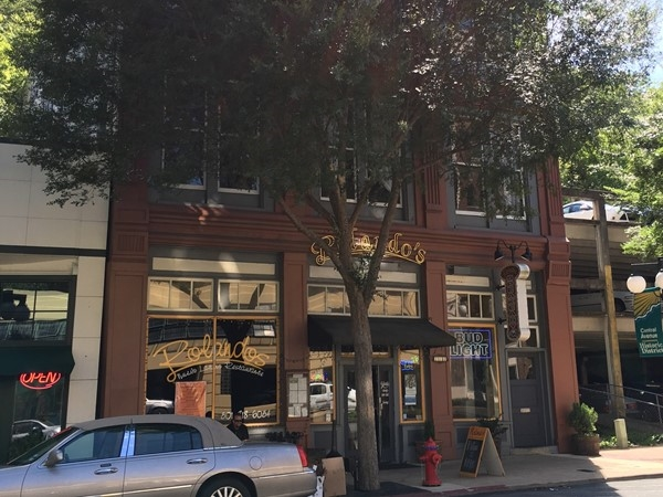 Downtown Hot Springs is perfect for walking and shopping on weekends