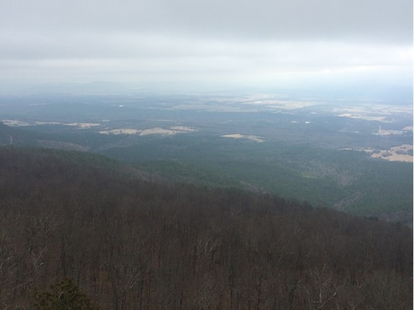 View from beautiful Mount Magazine