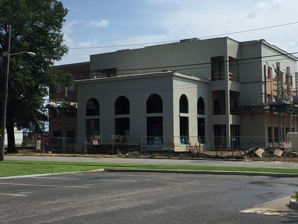 Conway Corp's new building almost complete