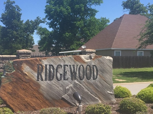 Ridgewood is another beautiful subdivision in Cave Springs