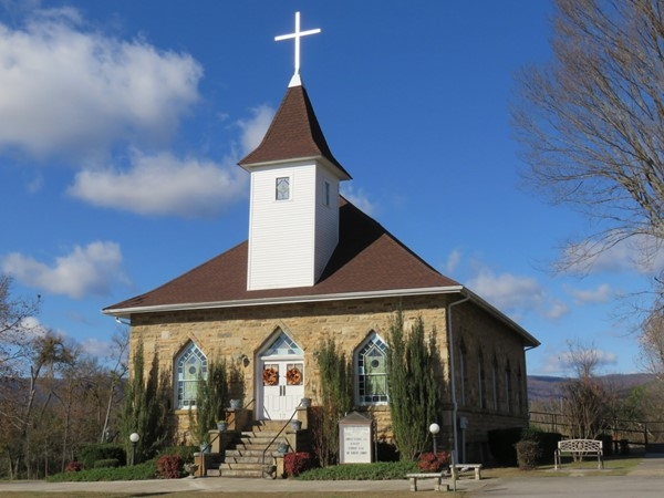 This is such a beautiful church in the Johnson County area