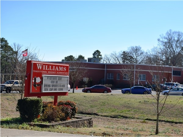 Williams Magnet Elementary is a part of the Little Rock School District and located near Leawood