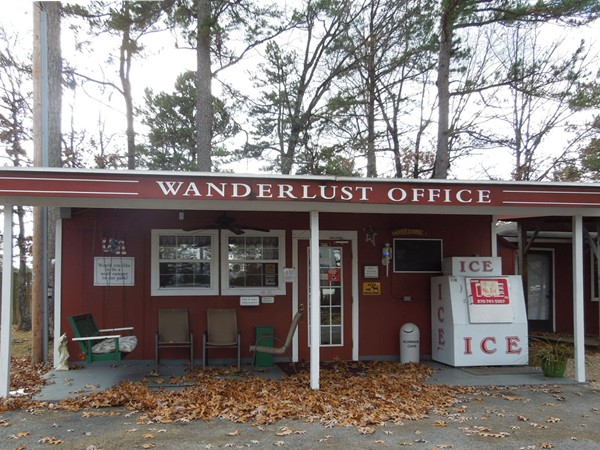 Wanderlust RV Park - Main Office building - Eureka Springs