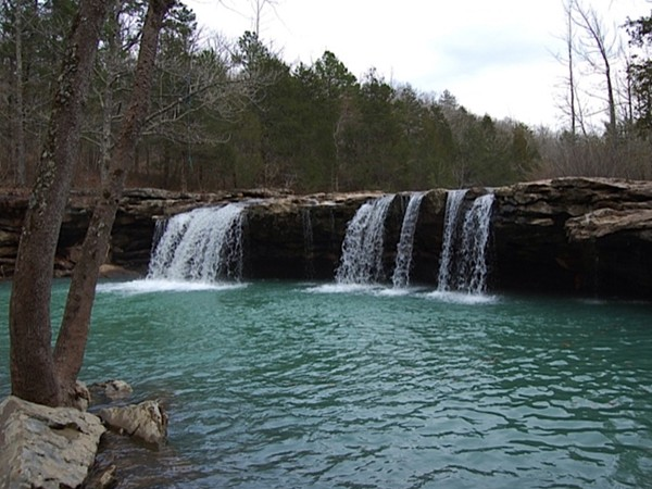 Explore the Greater Arkansas River Valley waterfalls