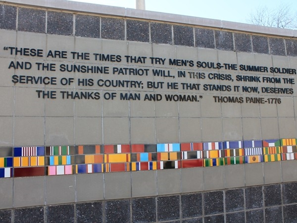 Thank you, to all who have served our nation - Veterans Wall of Honor