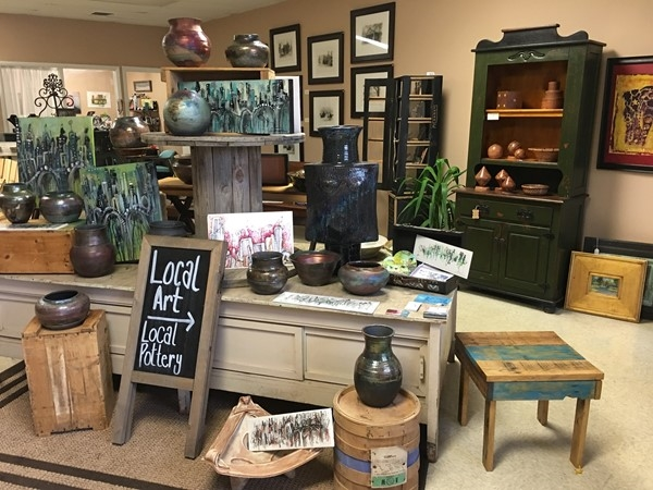 Conversation Pieces is a must see store! Everything in the store is made by Arkansas artists