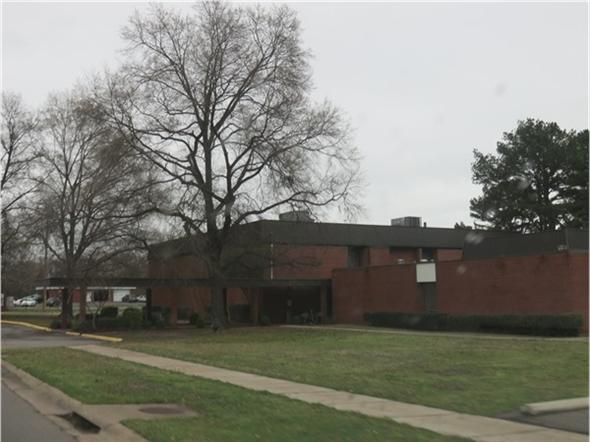Hughes Center in Russellville