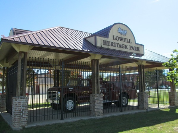 Heritage Park is an important historical part of Lowell