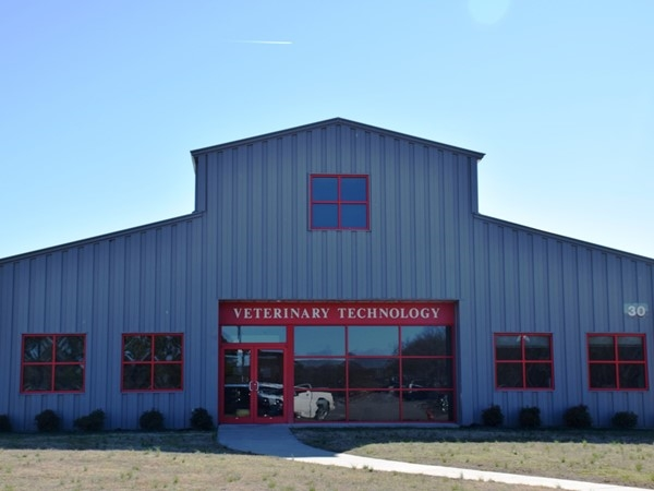 ASU-Beebe's Veterinary Technology building in Beebe