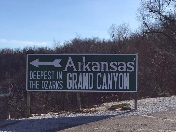 Arkansas Grand Canyon, beautiful Arkansas scenery