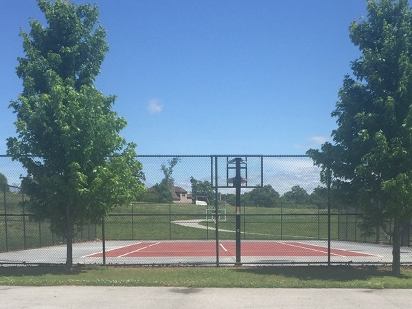 Tennis courts at Otter Creek subdivision