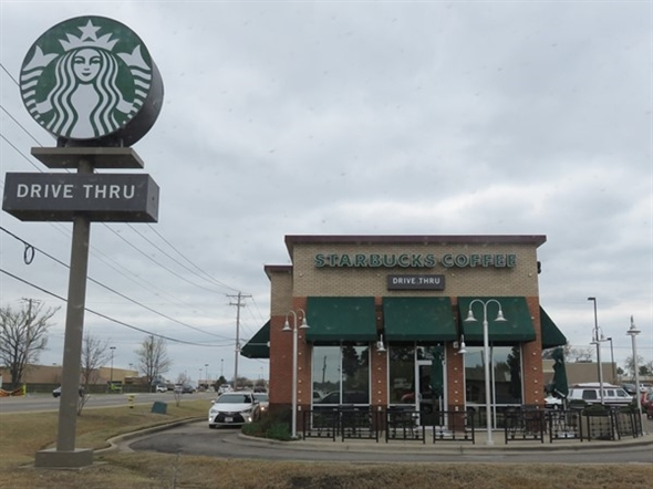 When in need of a caffeine fix, veer into Starbucks at Weir and Parkway