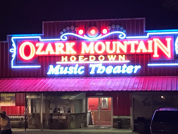Fun family evening at Ozark Mountain