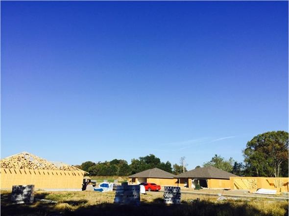 More progress in Clarksville. Another subdivision underway in Clarksville
