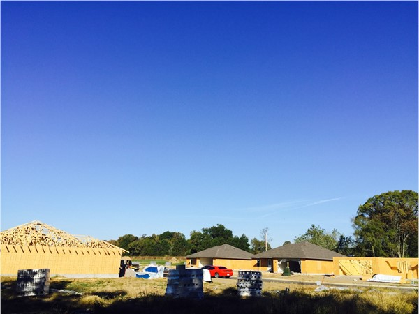 More progress in Clarksville. Another subdivision underway in Clarksville