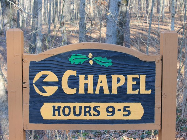 The Mildred Cooper Chapel is a great place to visit
