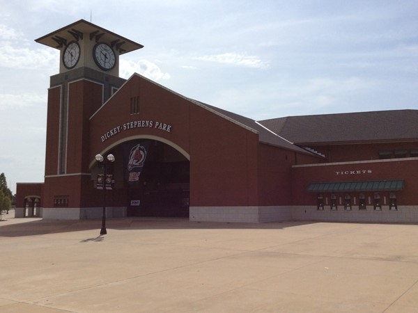 Dickey-Stephens Park is home to the Arkansas Travelers, a minor league baseball team
