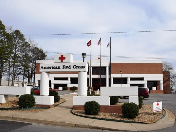 The American Red Cross of Arkansas is located just behind War Memorial Stadium near the zoo