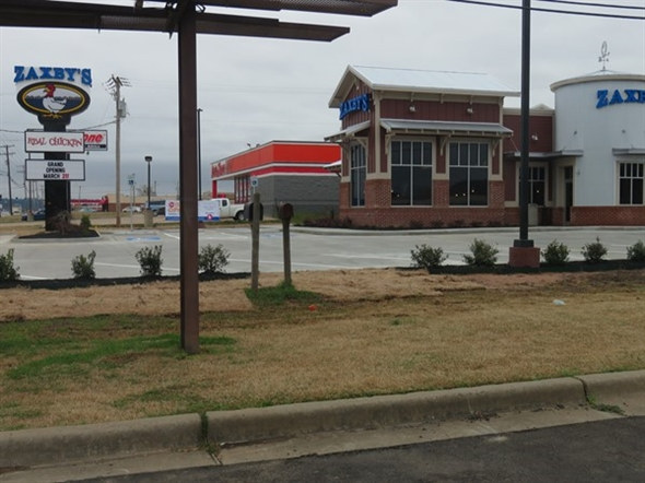 The Russellville Zaxby's had it's Grand Opening in March 2016