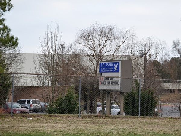 JA Fair, a high school in the Little Rock School District is located just off Colonel Glenn Road