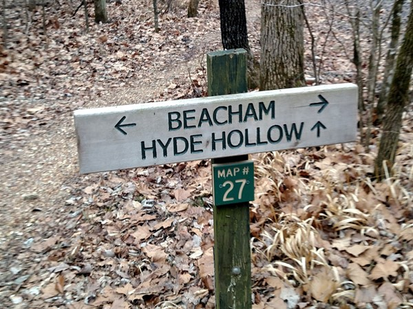 Follow the signs at Leatherwood Trail Loop