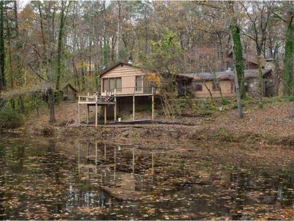 Nice home with a beautiful pond view