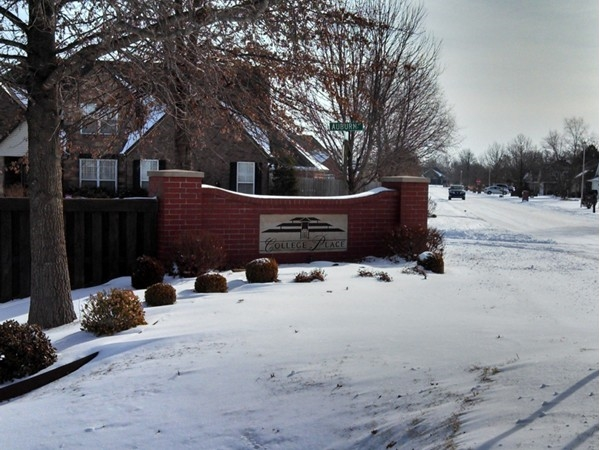 College Place in east Bentonville for great location.  New and existing homes offered
