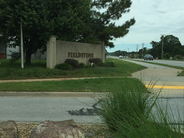 Fieldstone subdivision in Fayetteville,  off of Weddington