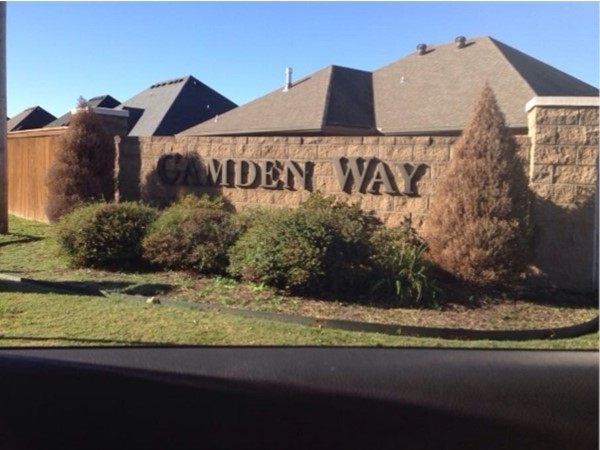 Camden Way subdivision has a few resale homes and new construction with large lots